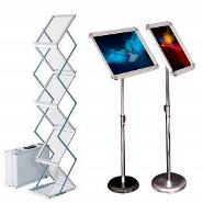 Promotion Literature Stands