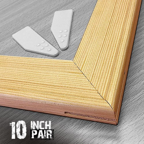 10 inch 18mm Canvas Pine Stretcher Bars