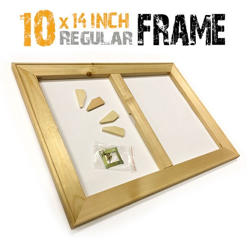 10x14 inch canvas frame