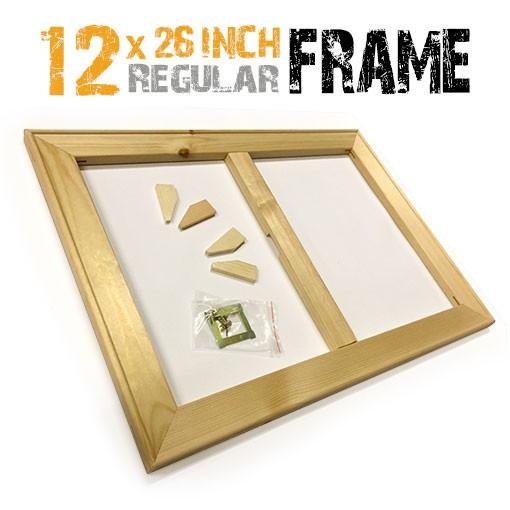 12x26 inch canvas frame
