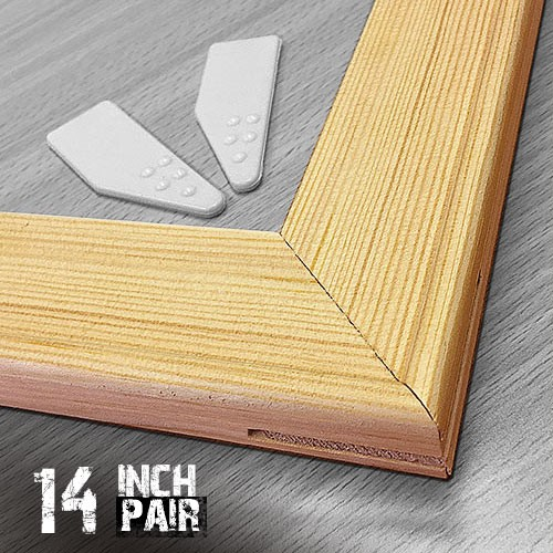 14 inch 18mm Canvas Pine Stretcher Bars