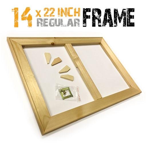 14x22 inch canvas frame
