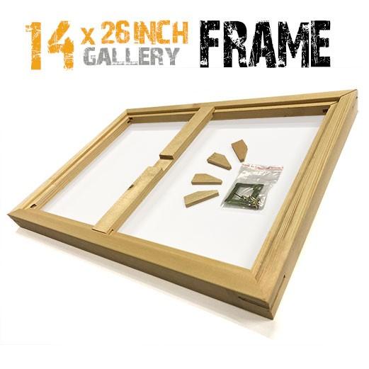 14x26 canvas frame