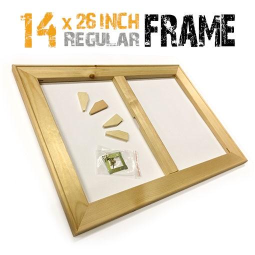 14x26 inch canvas frame