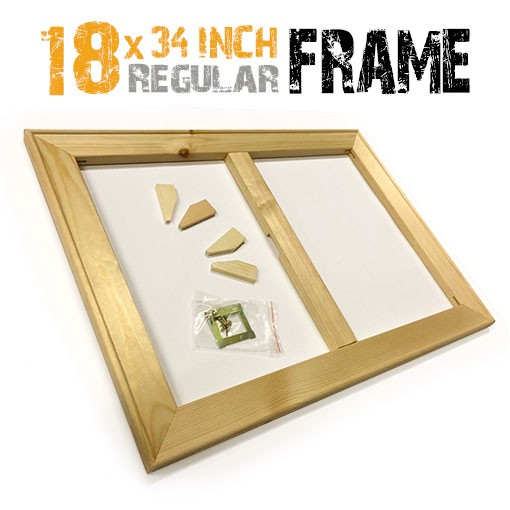 18x34 inch canvas frame