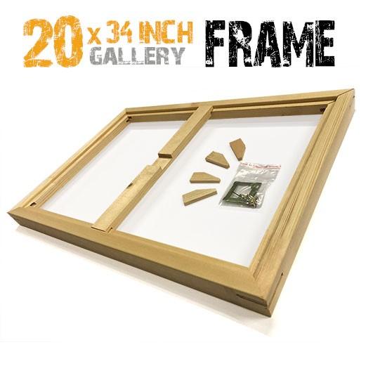 20x34 canvas frame