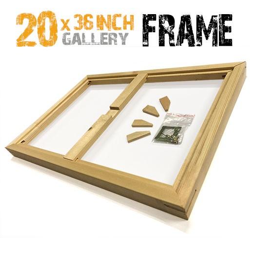 20x36 canvas frame