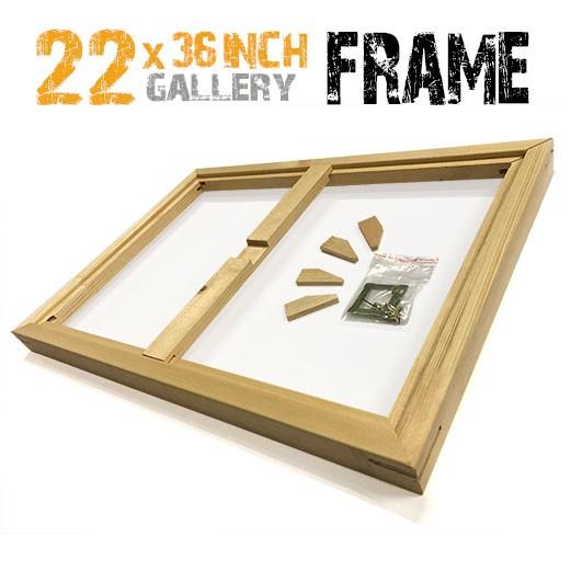22x36 canvas frame