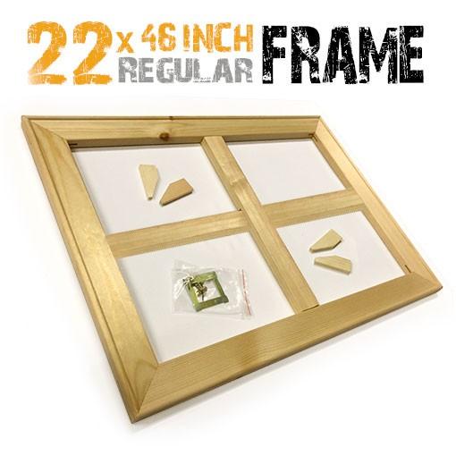 22x46 inch canvas frame