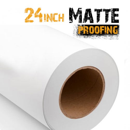 "24"" matte Proofing paper Roll"