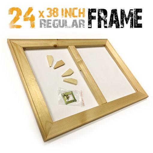 24x38 inch canvas frame