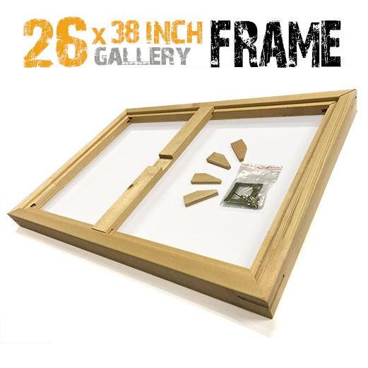 26x38 canvas frame