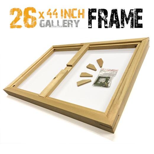 26x44 canvas frame