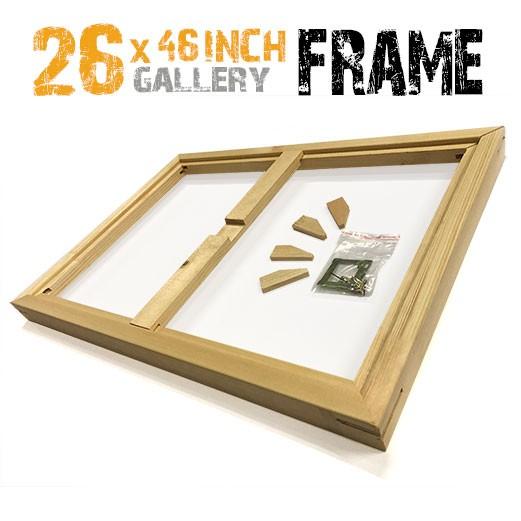 26x46 canvas frame