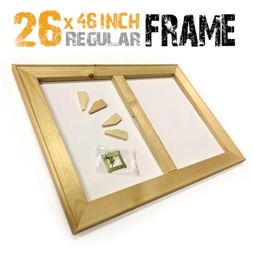 26x46 inch canvas frame