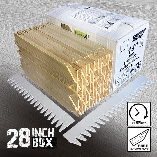 28 inch Standard Canvas Stretching Bar Supplies