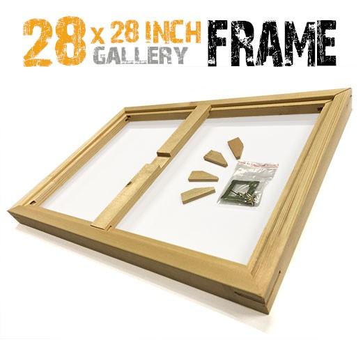 28x28 canvas frame