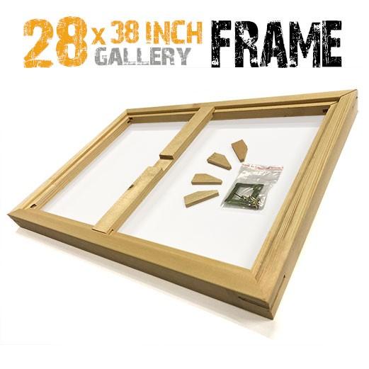 28x38 canvas frame