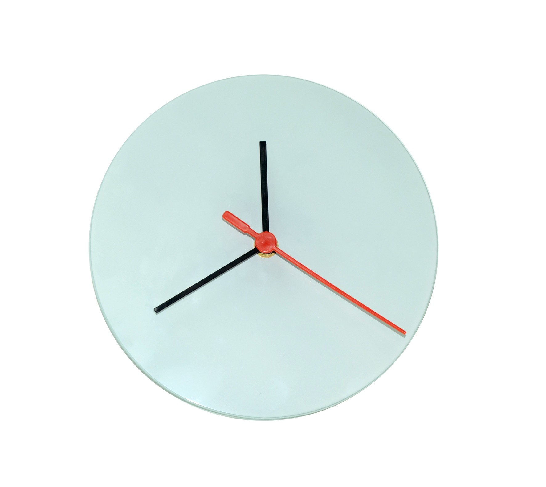 30cm Sublimation 5mm thick Glass Clock