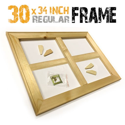 30x34 inch canvas frame