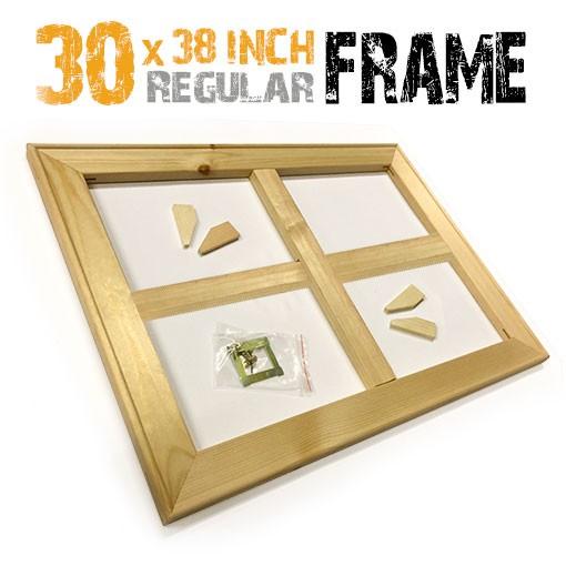 30x38 inch canvas frame