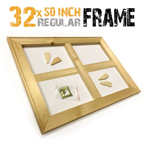 32x50 inch canvas frame