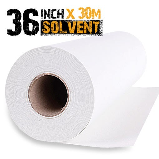 Eco Solvent Polyester Canvas Roll 36""