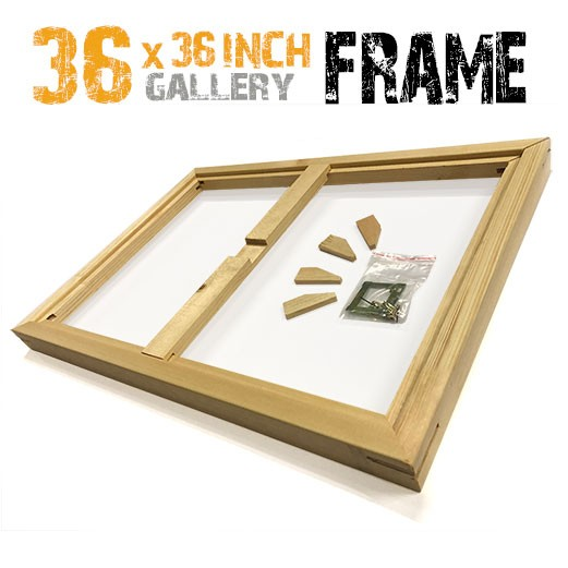36x36 canvas frame
