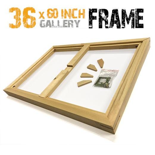36x60 canvas frame