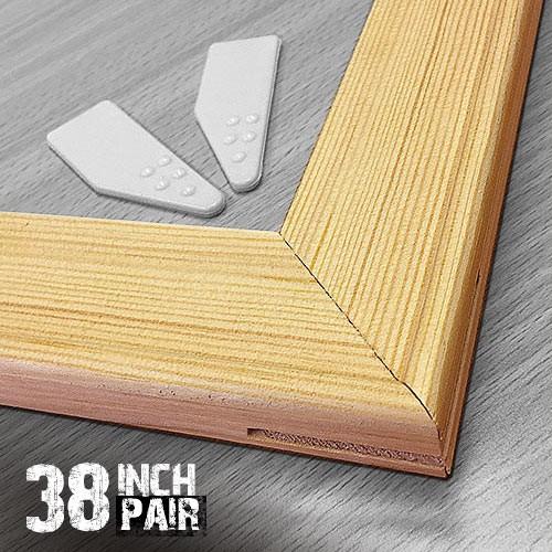 38 inch 18mm Wooden Stretcher Bars