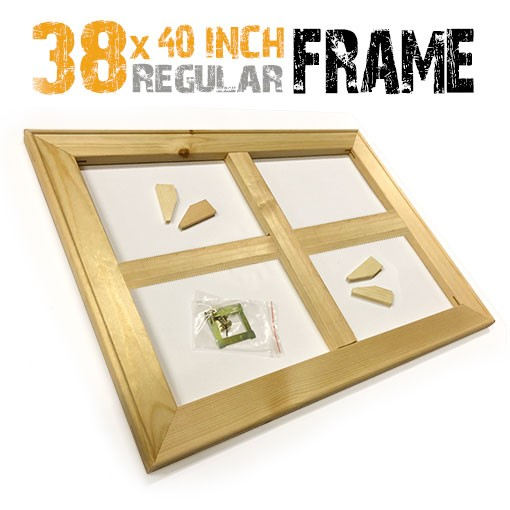 38x40 inch canvas frame