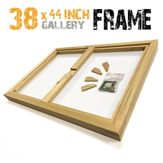 38x44 canvas frame