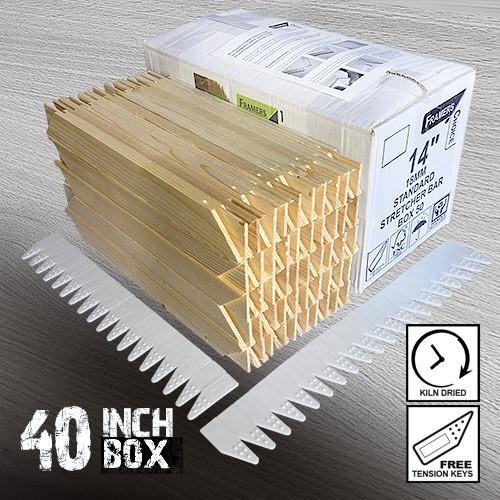 40 inch Standard Canvas Stretcher Bars