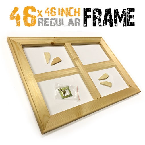 46x46 inch canvas frame