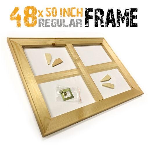48x50 inch canvas frame