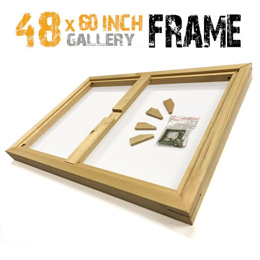 48x60 inch canvas frame