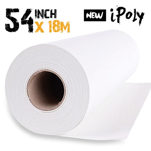 54 inch Inkjet Polyester Canvas Roll 18m - 280gsm