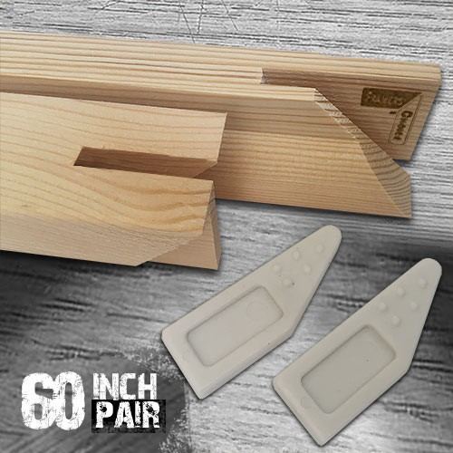 60 inch Gallery Stretcher Bar Pair