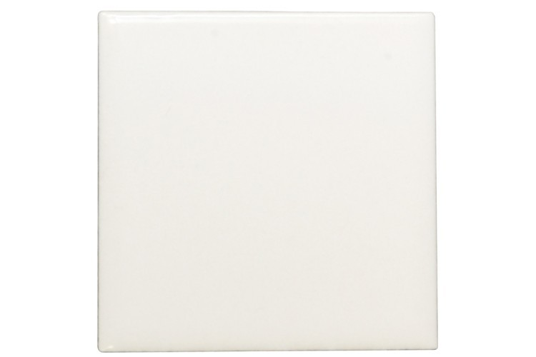 "6""x 6"" Square White Tiles Blank"