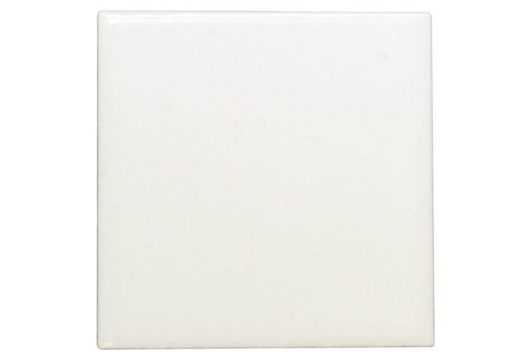 "8 x 10"" Square White Tiles Blank"