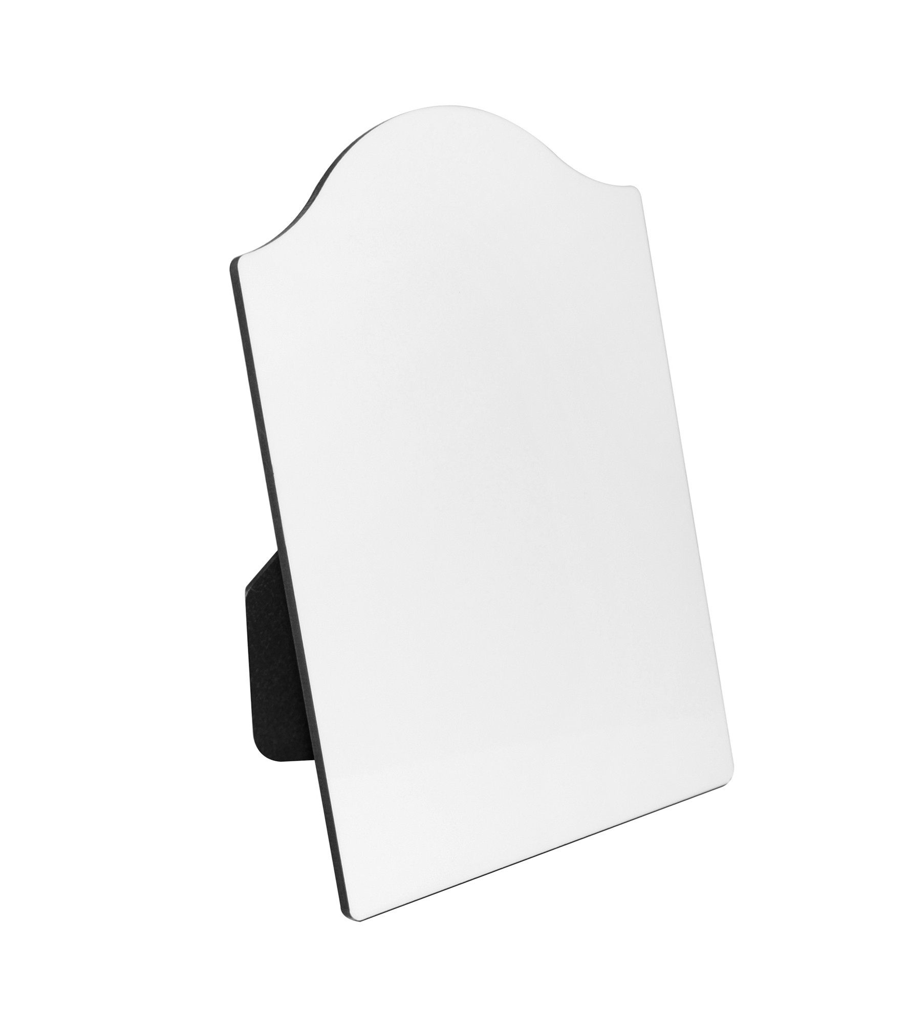 "8"" x 10"" Arched Hardboard Photo Frame Blank"