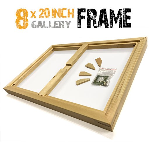 8x20 canvas frame