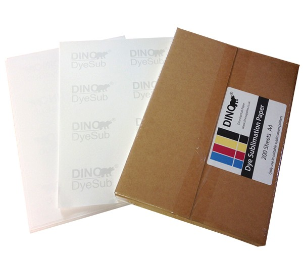 A4 Sublimation Paper Sheets - 200 Sheets by Dino