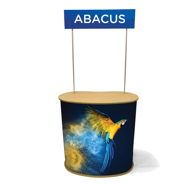 Abacus Promotion Counter with Head Board