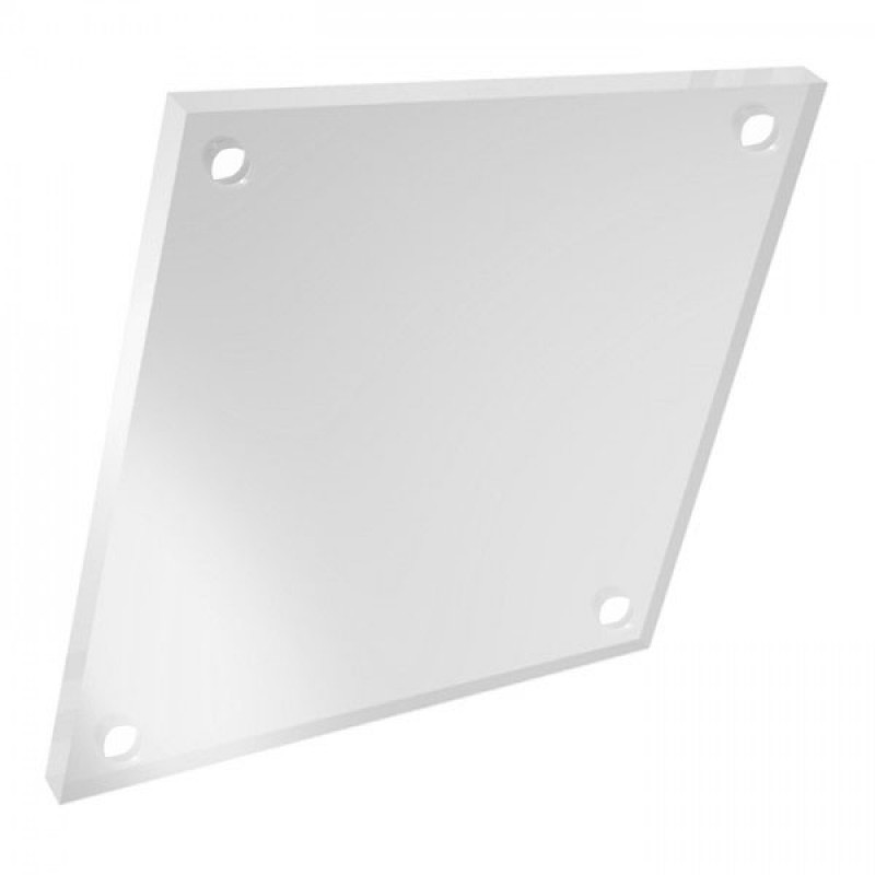 A3 Transparent 5mm Acrylic Sheets with 4 Holes