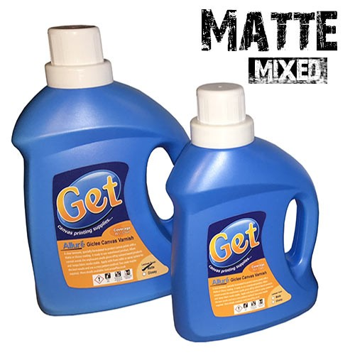 Matte Canvas Varnish Liquid