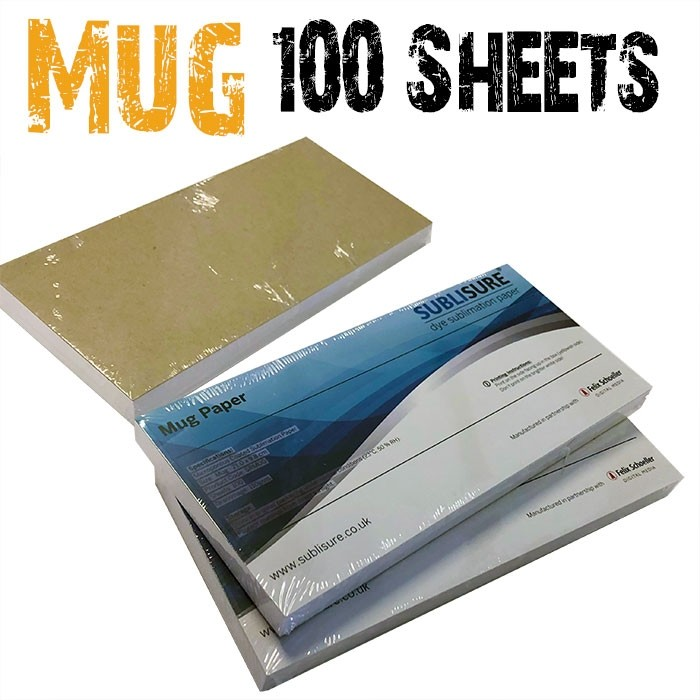 Mug Sublimation Paper 100 Sheets
