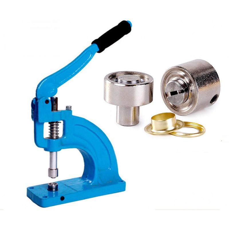 Banner Eyelet Punch Machine 10mm, 12mm, 18mm - 100 FREE Eyelets