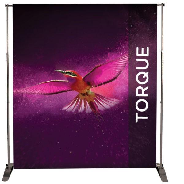 Jumbo Banner Display Frame