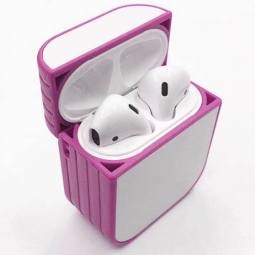 Apple AirPod Sublimation Case Blank Pink